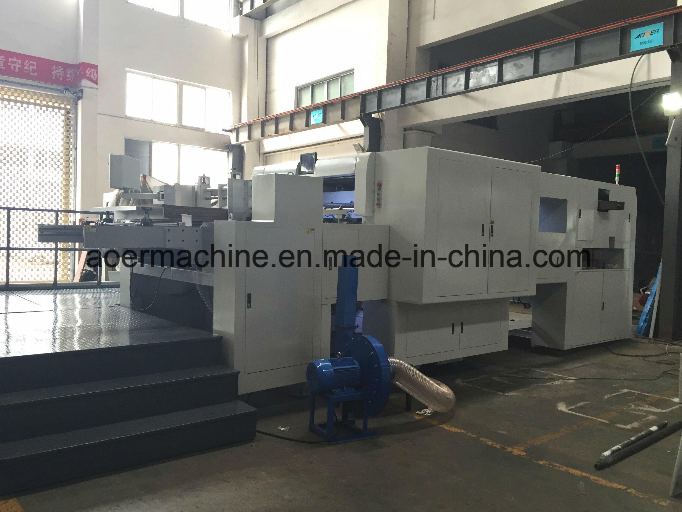 AEM-1650VQ Lead Edge Automatic Stripping Die Cutting Machine