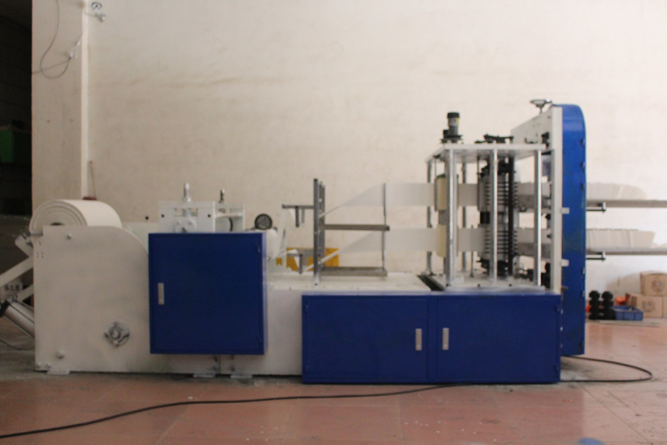 Automatic Printing Embossing Napkin Paper Machine