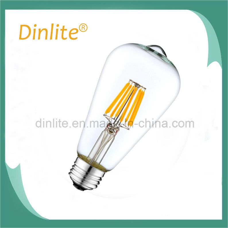 2 Filament Decorative ST64 2W LED filament bulb