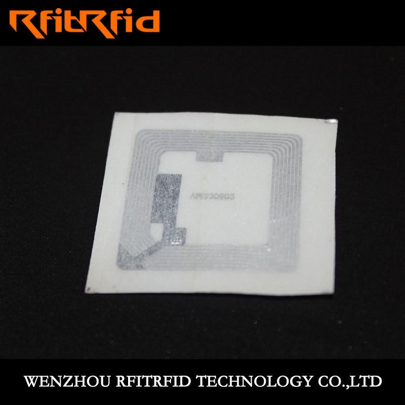 Ntag 213 Anti-Tear Copper RFID Ticket
