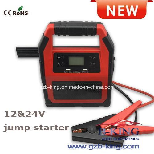 40000mAh Portbale Jump Starter (12V&24V universal)