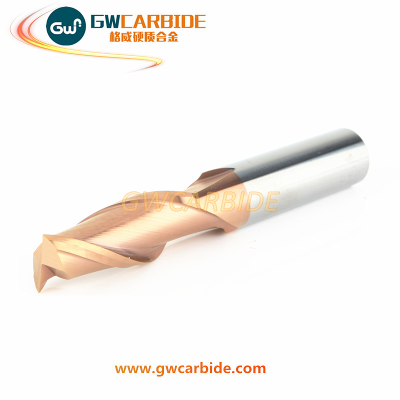 Carbide Ball Nose Square End Mill with 4 Flutes