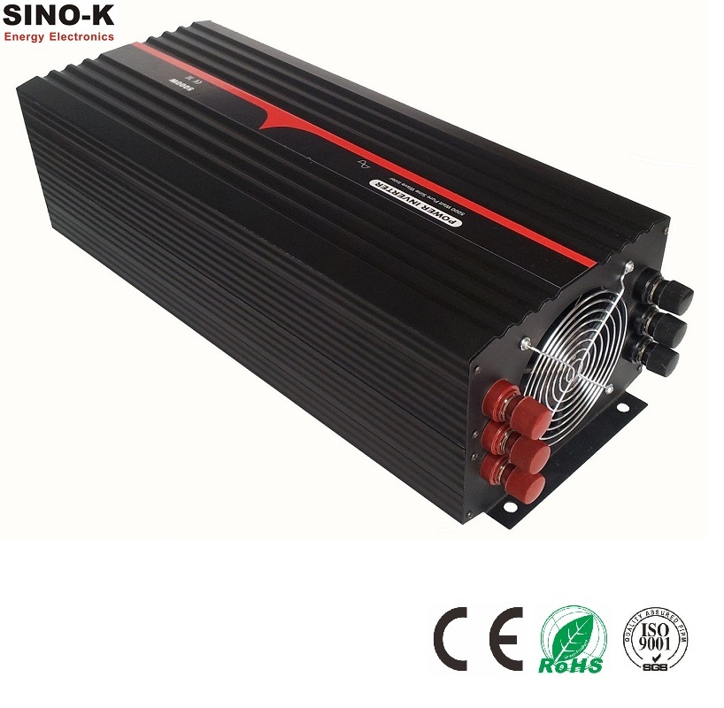 5000W off Grid Pure Sine Wave Power Inverter with Charger