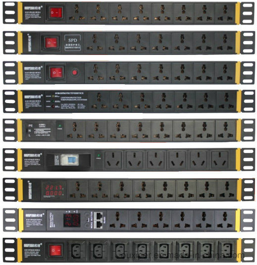 PDU with SPD, Universal 10A Socket