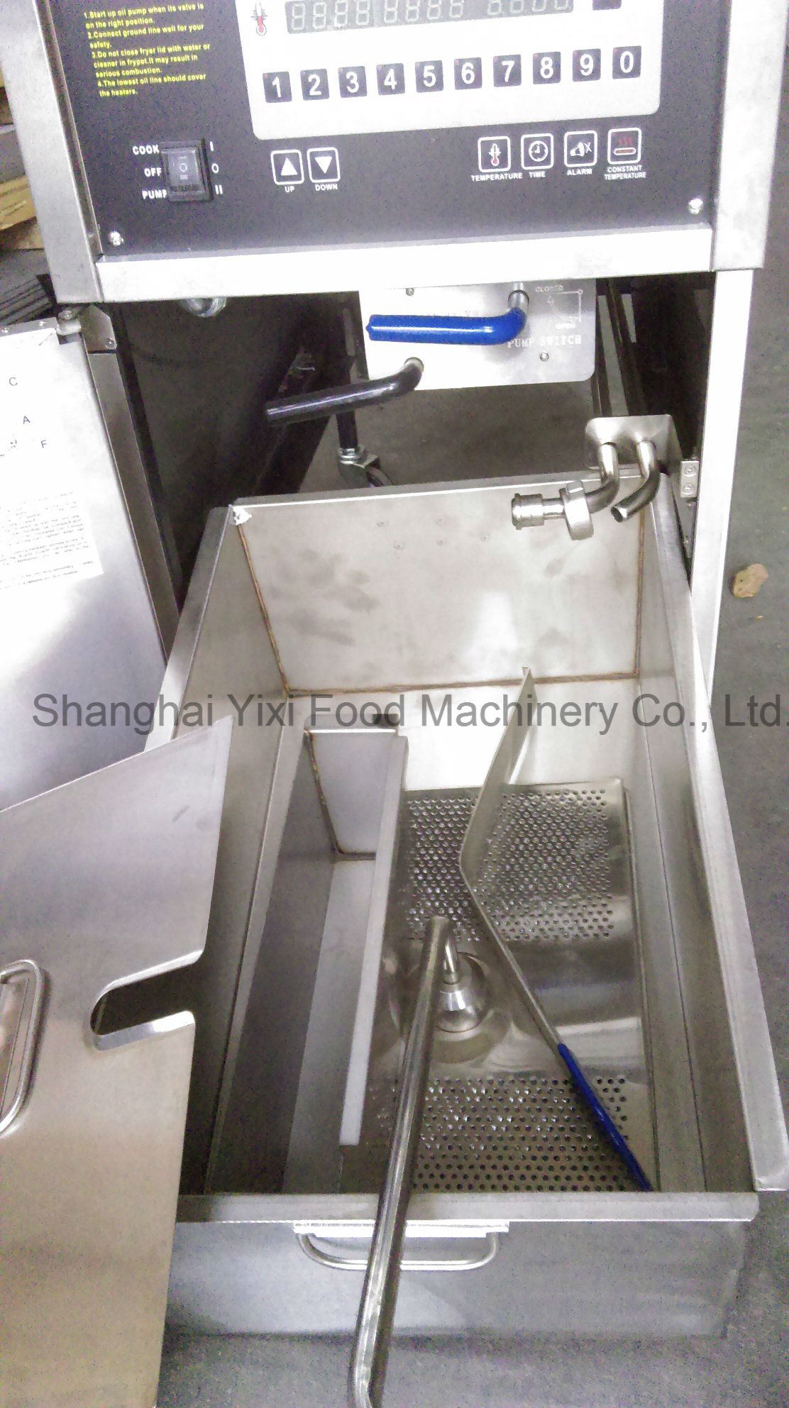 Food Machine Gas Fryer for Fast Food Restaurant
