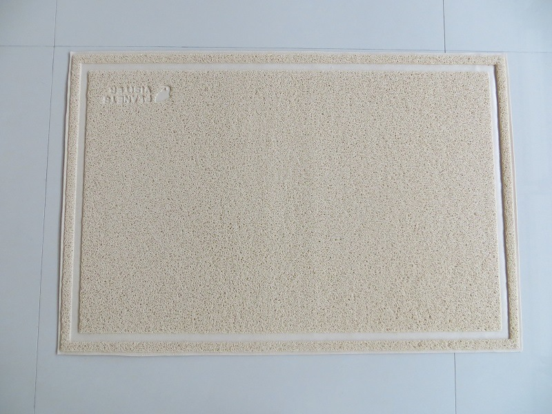Factory Produce Big Size PVC Pet Mat Cat Litter Mat
