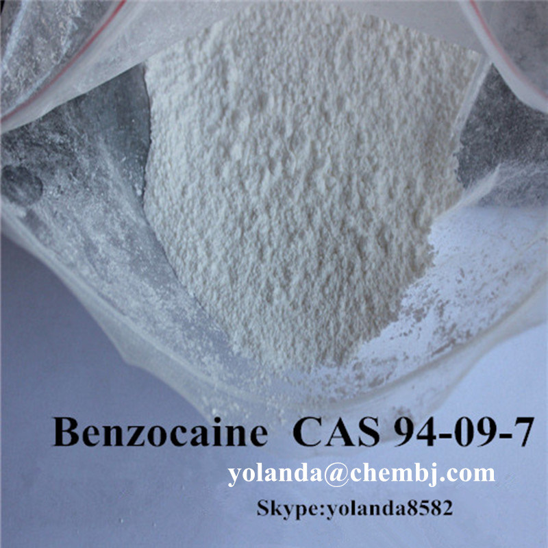 99% Purity Local Anesthetic Drug Benzocaine / Benzocaine Hydrochloride 200mesh