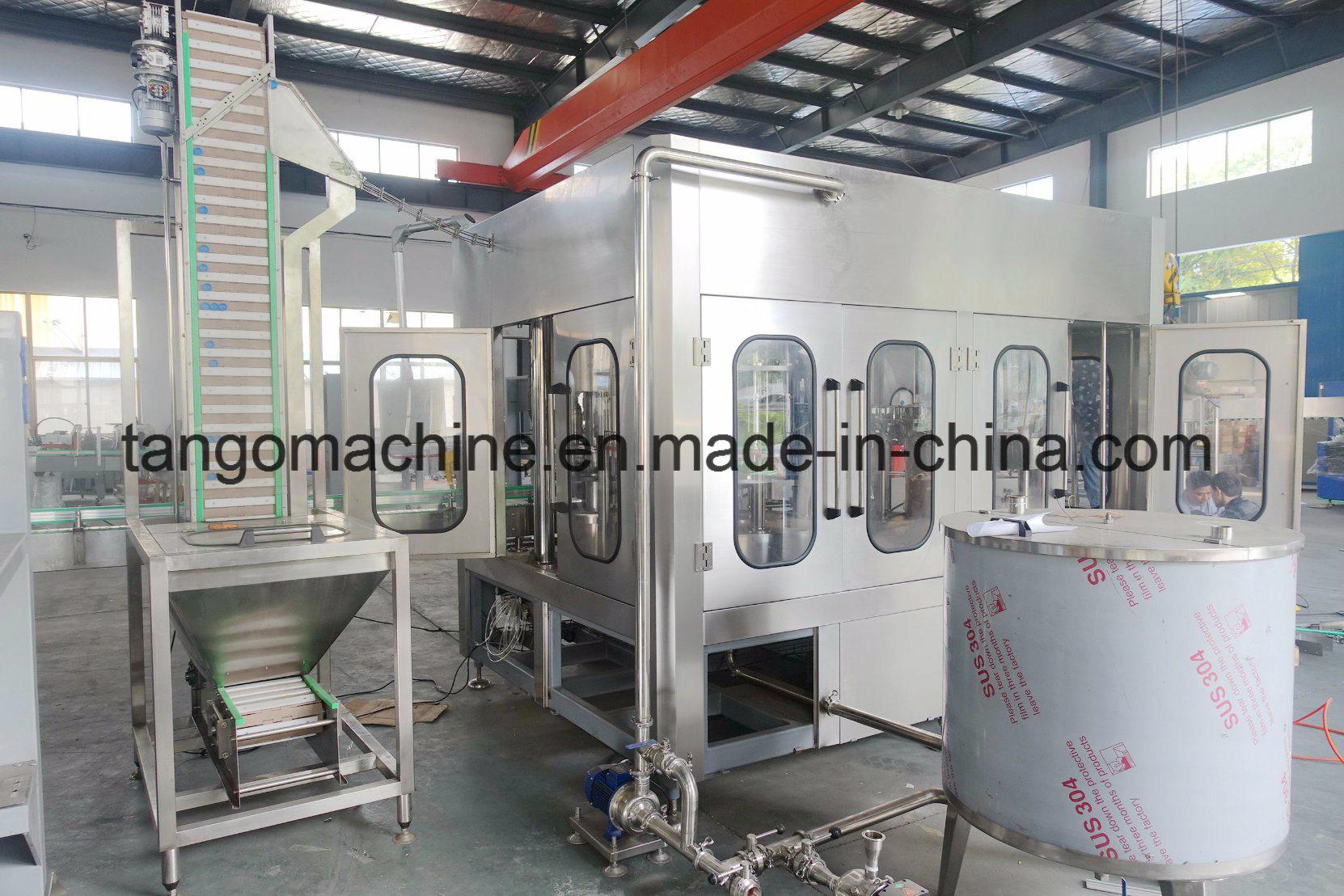 Complete Turn-Key Beverage Bottling Filling Packing Making Plant Machine for Bottle
