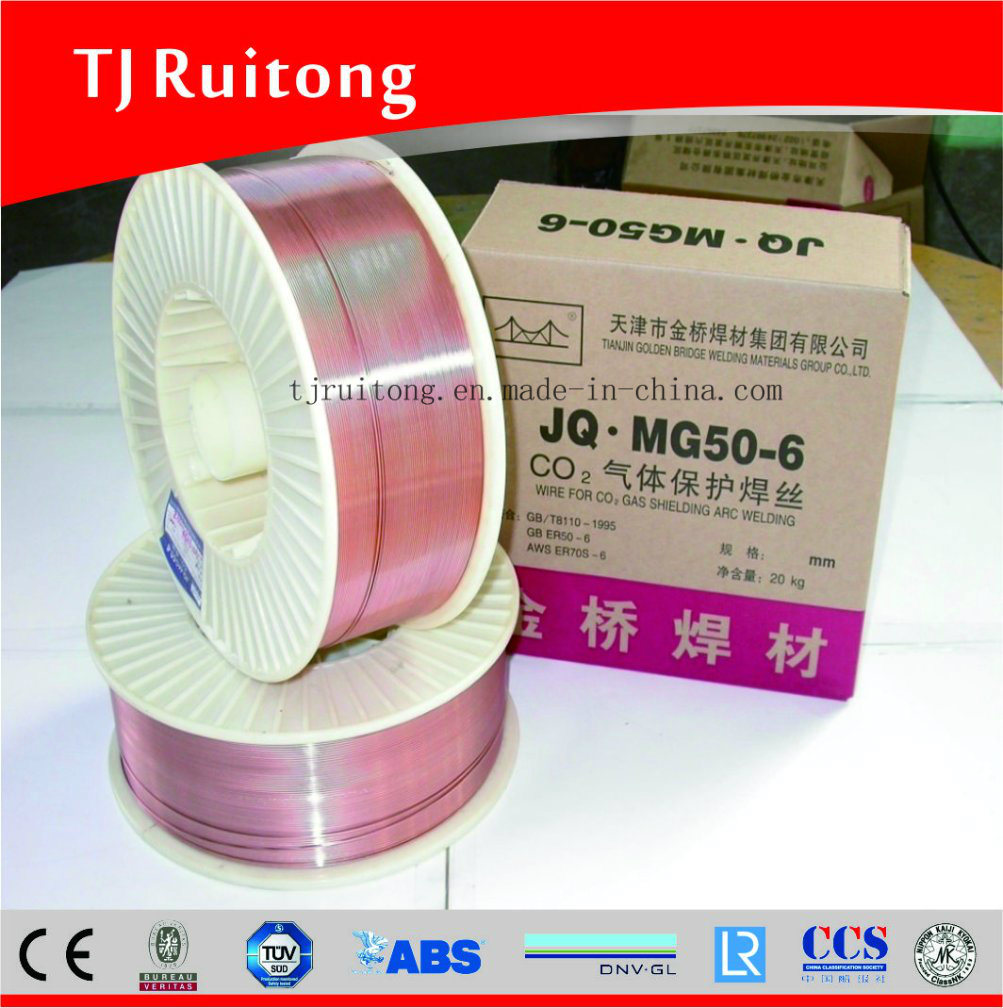 Submerged-Arc Welding Wire Golden Bridge Welding Wire Jq. H08mna
