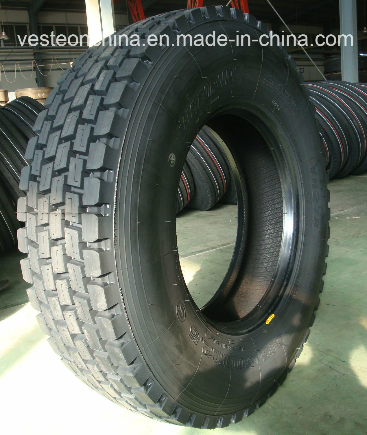Factory Hot Sale Radail Truck Tires 315/80r22.5 and TBR Tyres