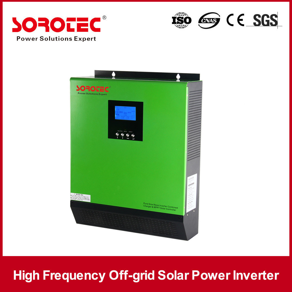Pure Sine Wave Output Inverter 1000-5000va Solar Charge Controller 40A
