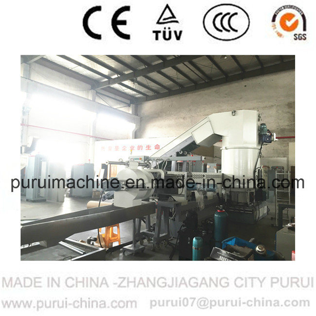 Plastic Recycling System for Post Consumer Waste Pelletizing with Double Disc Technology