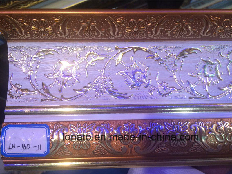 Popular Moving Iraq Design of PS Decoration Moulding Cornice