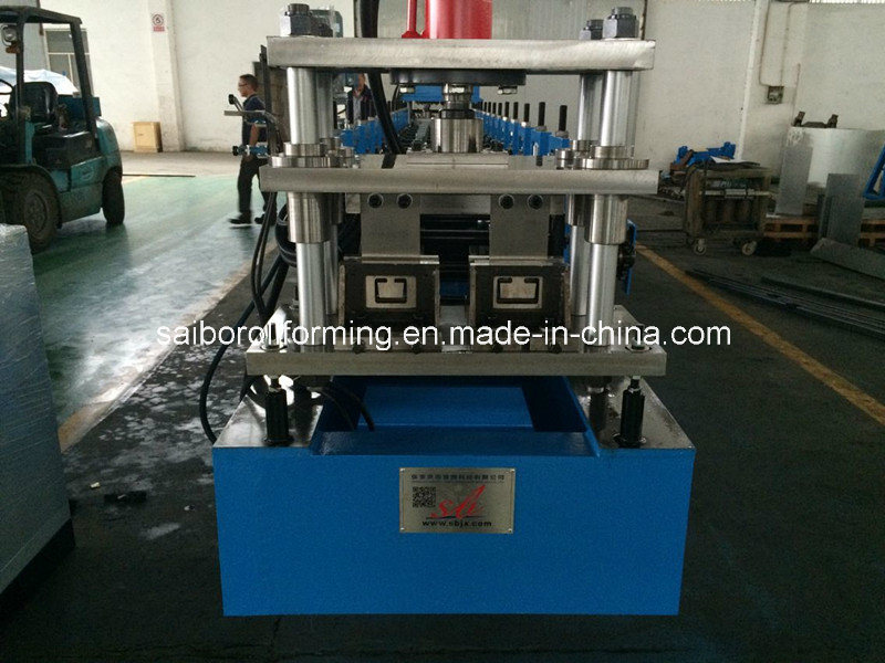 Double Line C Purlin Roll Forming Machine