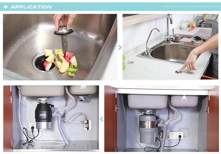 DC Motor Household Food Garbage Disposal Waste Disposer 3/4 HP