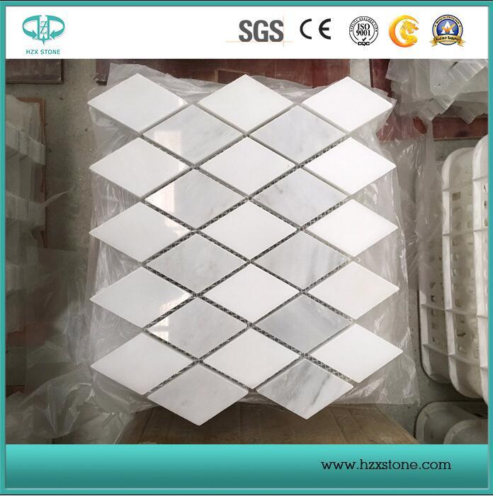White Bianco Carrara Marble/Mosaic Tiles/Wall Cladding/Floor Mosaic/Polished / Honed / Antique Mosaic