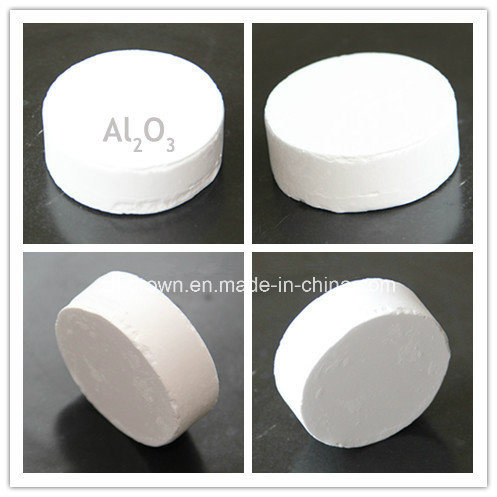 99.999% High Purity Alumina Pallet for Sapphire Crystal