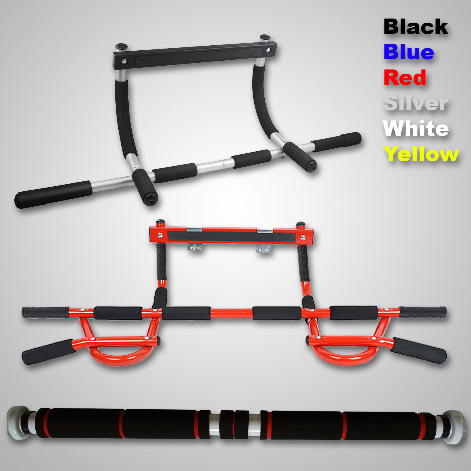 New Gym Chin Pull up Door Way Exercise Bar