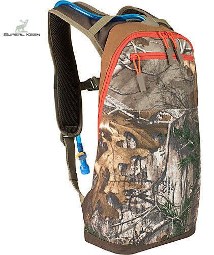 Polyester Rain Defender Hunting Backpack Hydration Pack