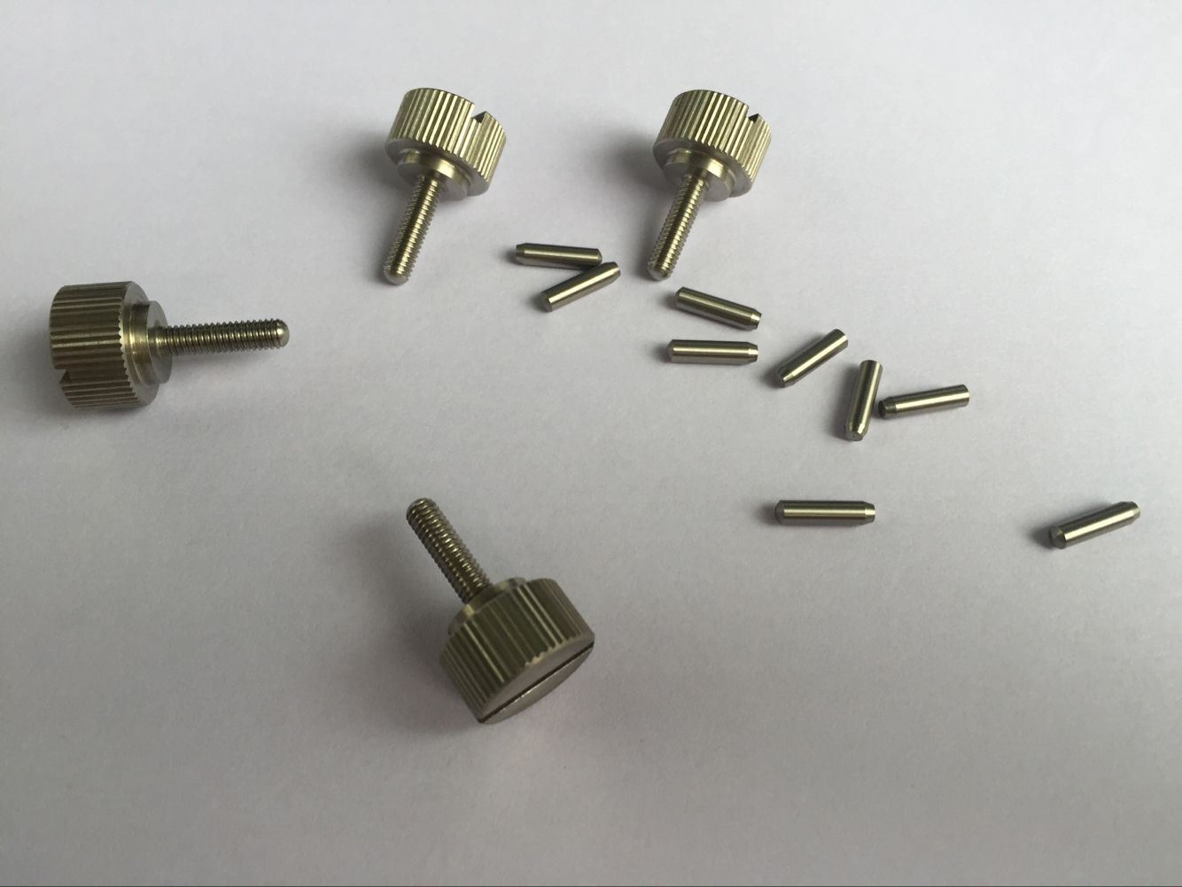 Custom Machining Part, Precision Turned Part, Stainless Steel Thumb Screw