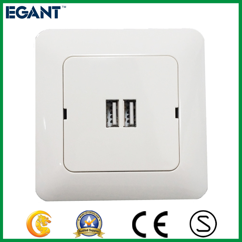 Ce Standard 5V 3.4A Universal USB Wall Charger