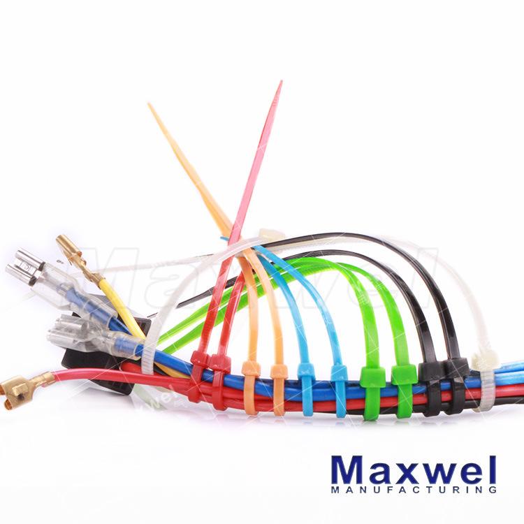 UL Certified Nylon 66 Self-Locking Plastic Cable Tie