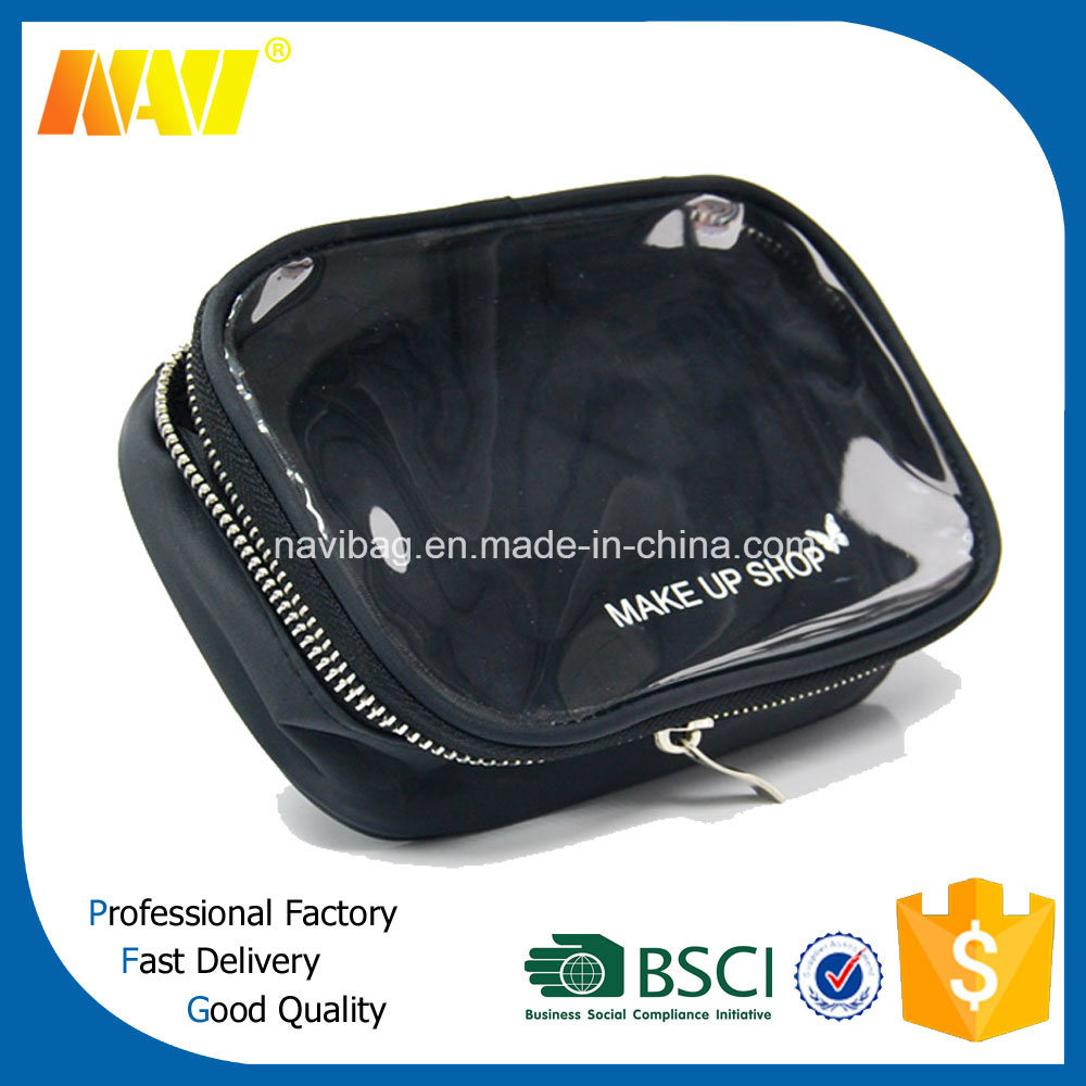 Fashion Nylon and Plastic Cosmetic Bags Cases