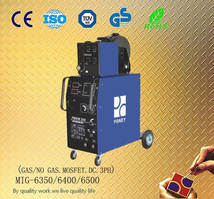MIG Welding Machine with CE. GS, Rohs Certificate High Performance (MIG-6350/6400/500)