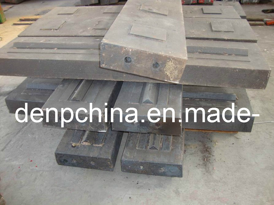 Impact Crusher Hammer Plate/ Blow Bar/Impact Crusher Parts/Hammer Plate/Blow Bar From Denp