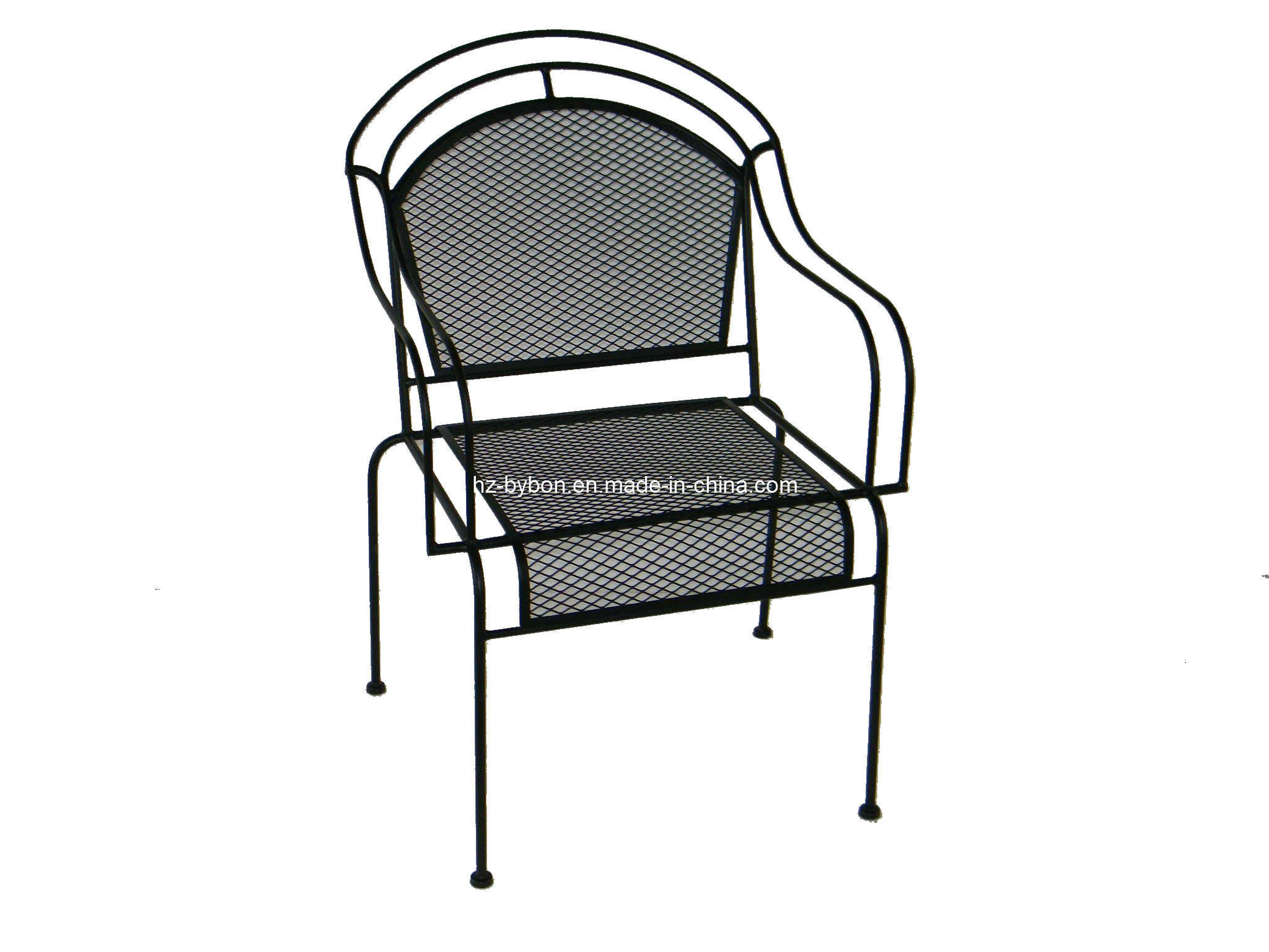 China Outdoor Wrought Iron Mesh Chair C 057 China Dining Chair Mesh Chair