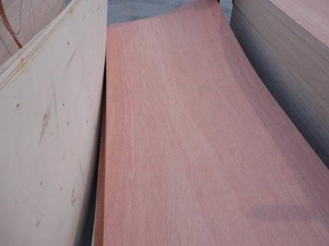 Door Skin Size Okoume Veneer Faced Plywood