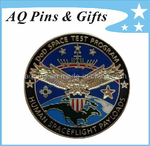 3D Imitation Cloisonne Metal Police Badge (badge-001)