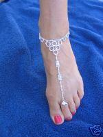 Ankle Bracelet Toe Ring