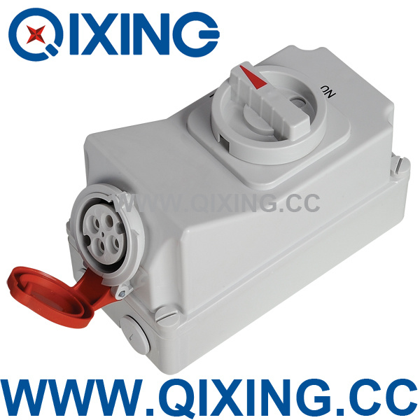 Socket with Switches and Mechanical Interlock (QX5100)