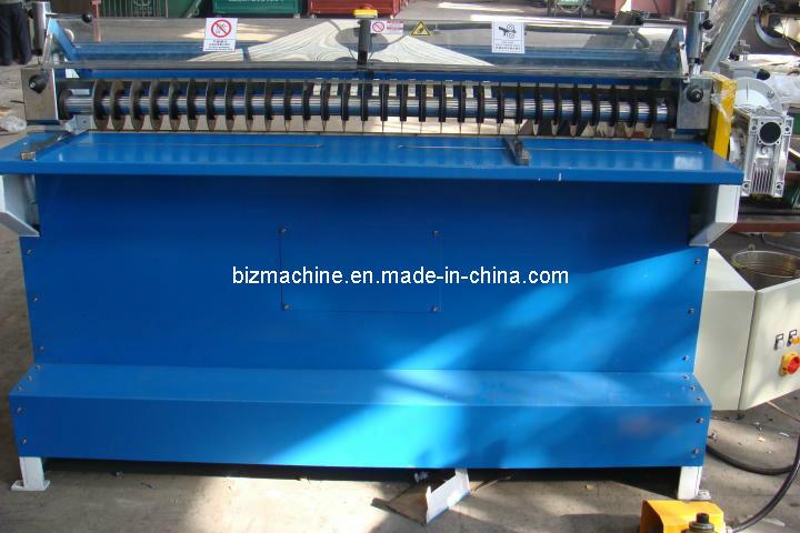 Hob Type Rubber Sheet Slitting Machine