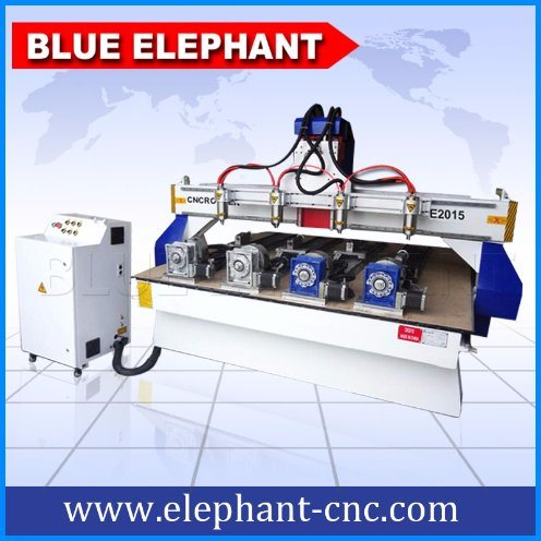 Ele-2017 3D CNC Wood Carving Router with CNC Router 3D Wood for Sale