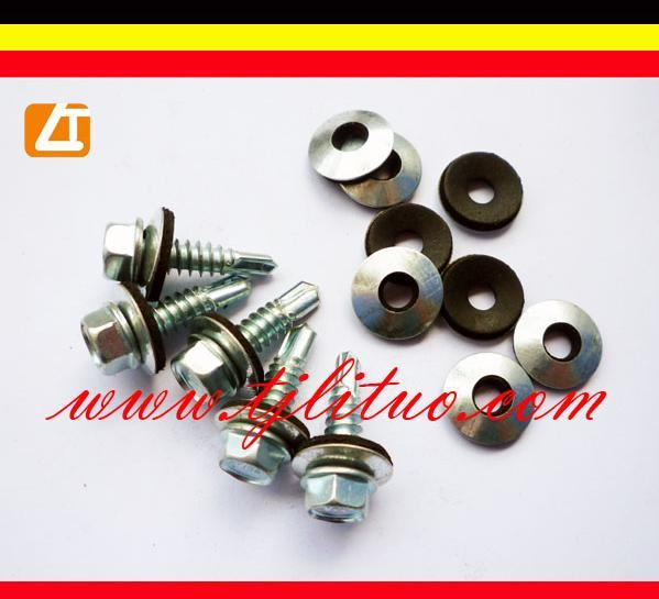 Hexagon Head Self Drilling Screws With EPDM Washers