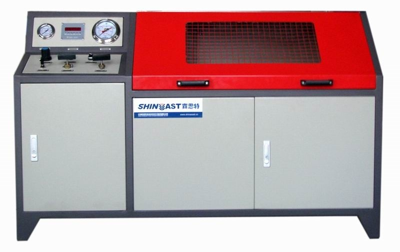 Burst Pressure Test Machine -- PLC Control
