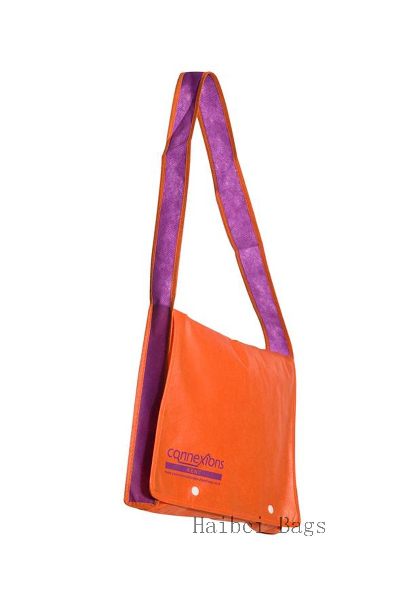 Non-Woven Kids Messenger Bag (HBNB-395)