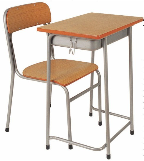 Popular Wooden School Desks And Chairs RM0914 Photos