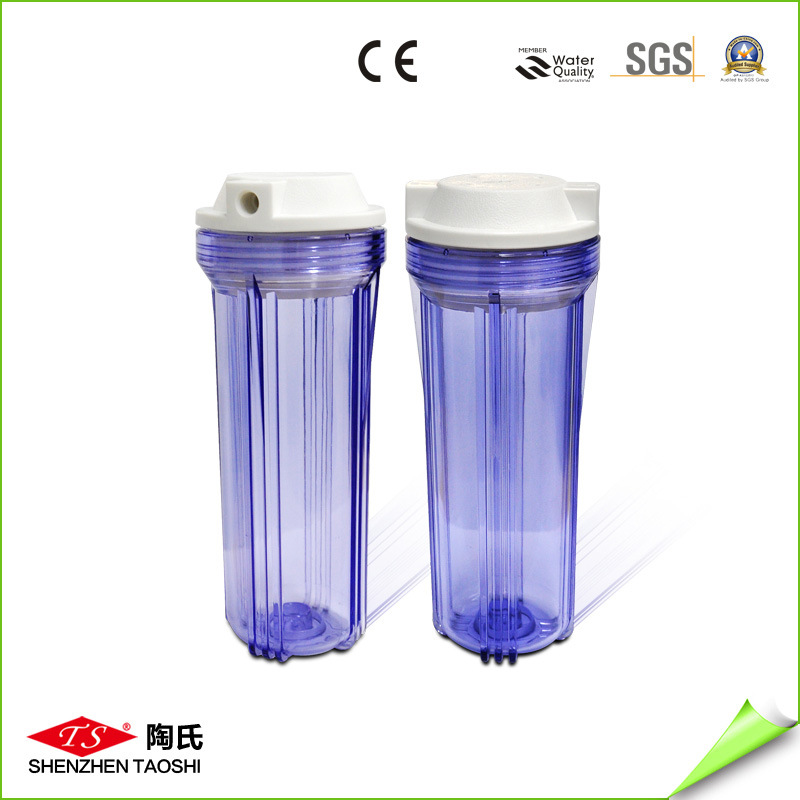 Reverse Osmosis 5 Inch Clear Water Filter Housing for Water Filter