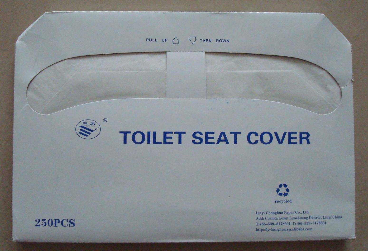 China Recycled Pulp Of Toilet Seat Cover China Toilet