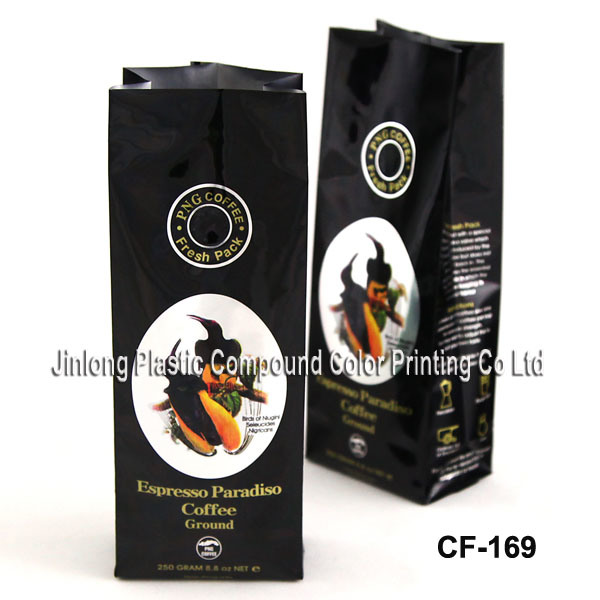 Custom Printing Coffee Packaging Bag with Various Styles