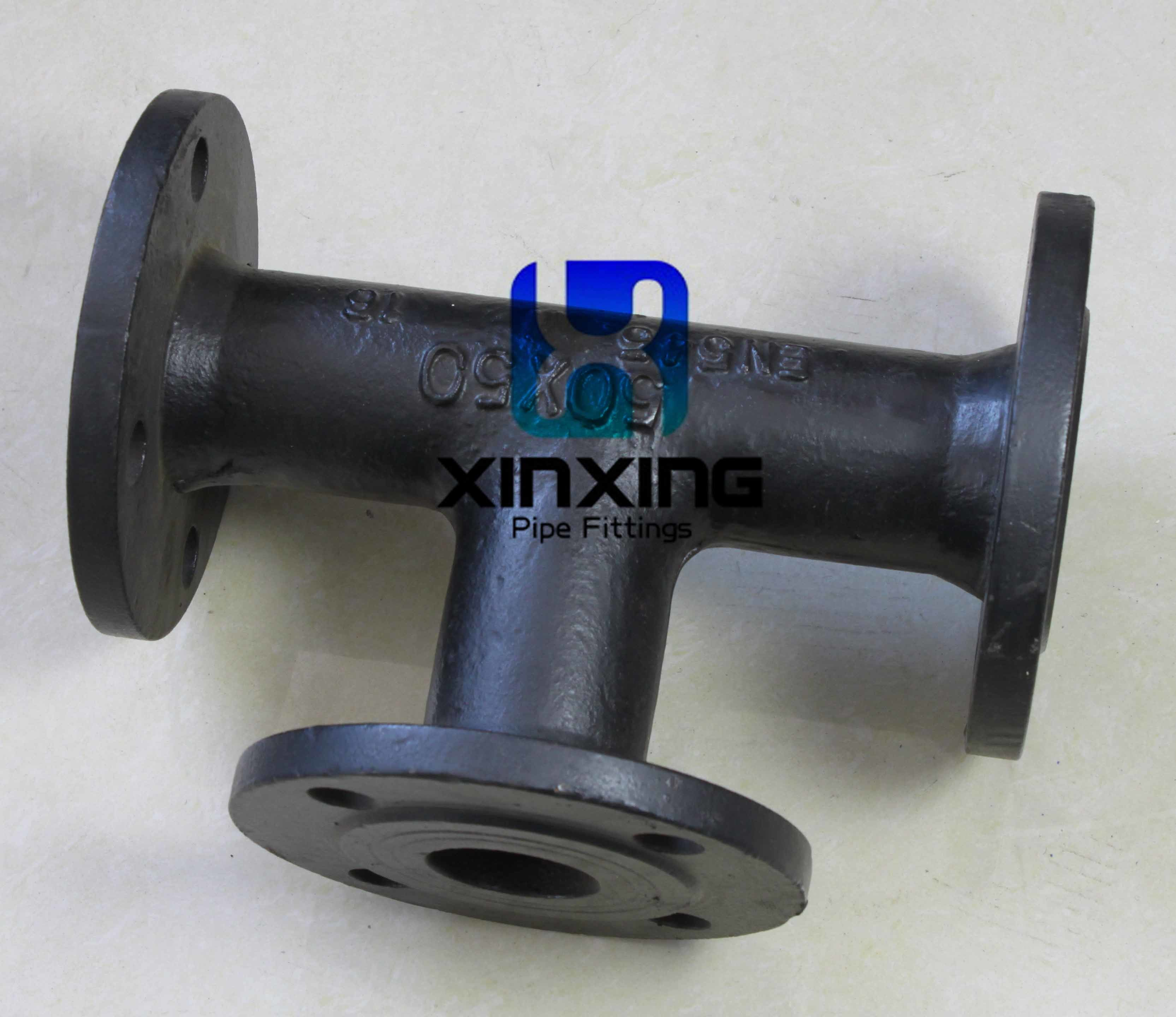 China en ductile iron pipe fittings with bitumen