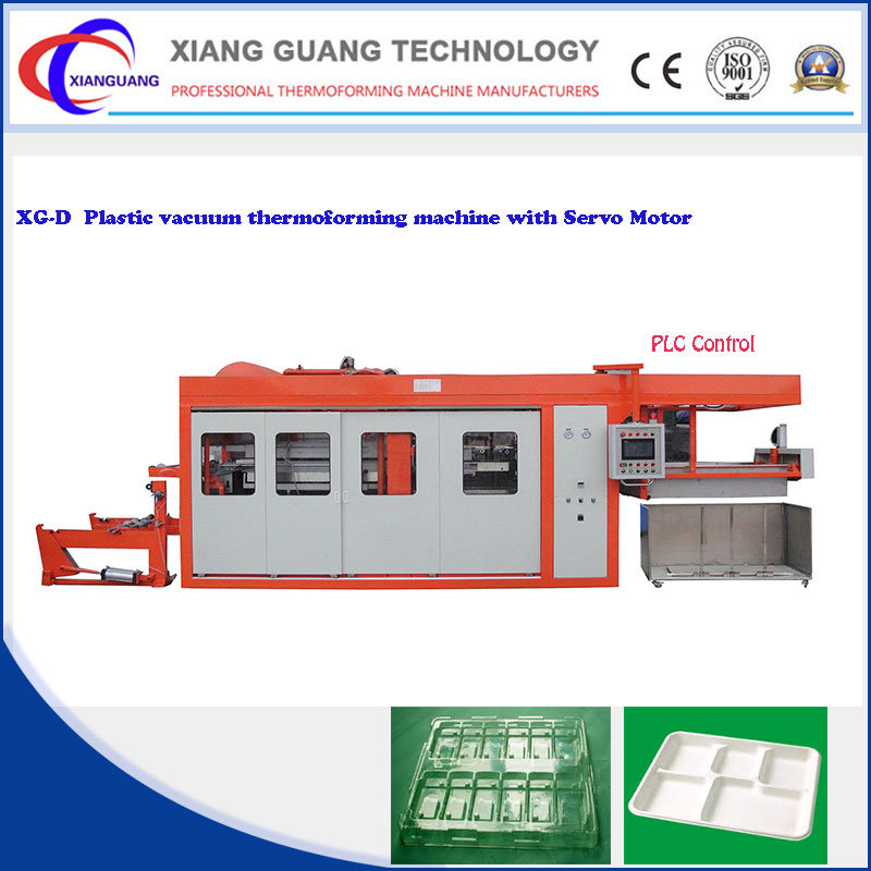 High Speed Plastic Products Servo Driver Vacuum Forming Machine
