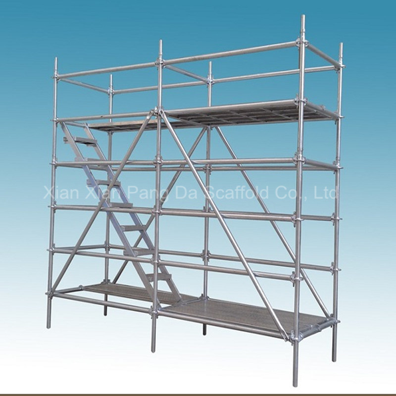 SGS Passed Ring Lock Scaffolding System for Construction