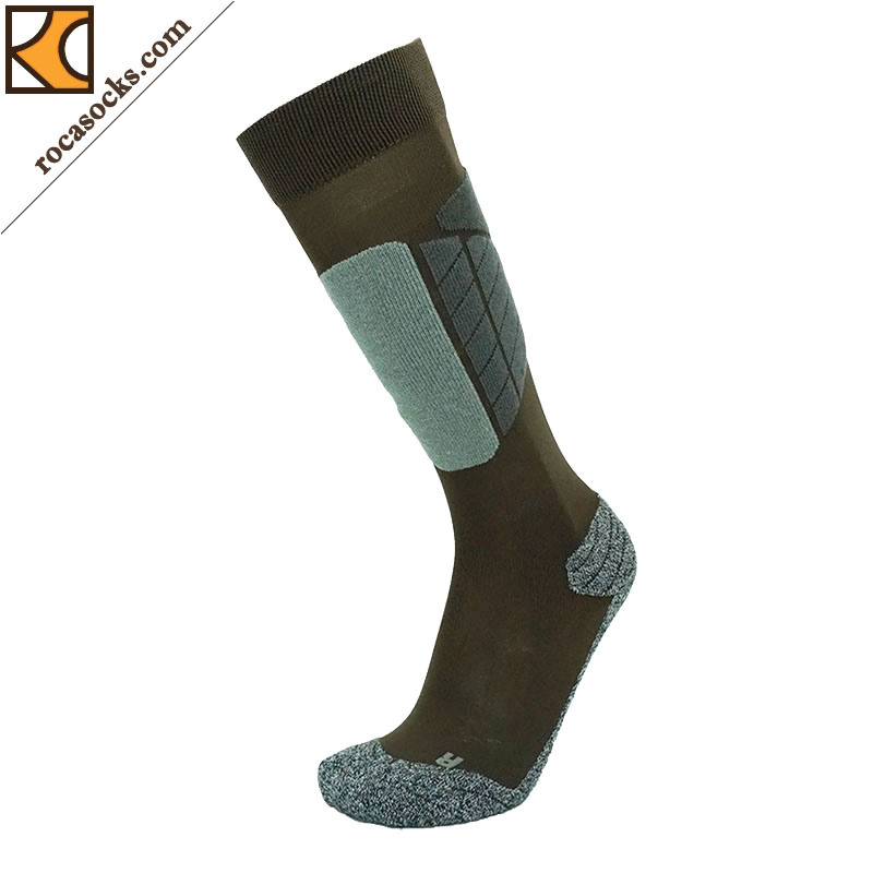 Men′s Thermolite Cotton Ski PRO Light Sport Socks (161003SK)