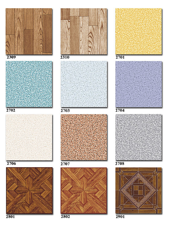 PVC Printed Floor Covering From China