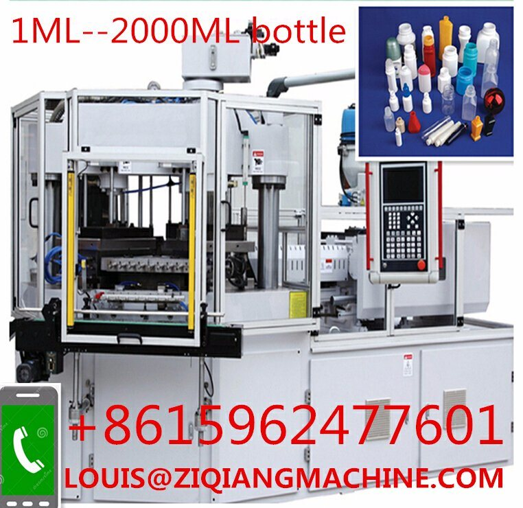 PP Plastic Bottles Injection Blow Molding IBM Bottle Machine