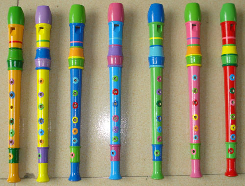 Colored 8 Holes Wood Recorder (RC-20)